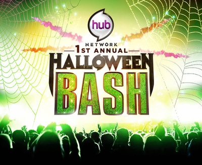 """The Hub Network Premieres the """"Hub Network's First Annual Halloween Bash"""" on Saturday, October 26. (PRNewsFoto/The Hub Network) (PRNewsFoto/)"""