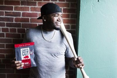 Chef's Cut Real Jerky announces partnership deal with Boston baseball legend David Ortiz.