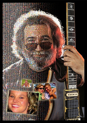 Fan Mosaics Plans Official Tribute to Grateful Dead Legend Jerry Garcia