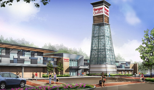 Tanger Outlet Centers Breaks Ground in Canada On The Expansion Of Tanger Outlets Cookstown.  (PRNewsFoto/Tanger Factory Outlet Centers, Inc.)