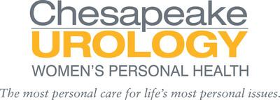 www.womenshealth.chesapeakeurology.com . (PRNewsFoto/Chesapeake Urology Associates) (PRNewsFoto/CHESAPEAKE UROLOGY ASSOCIATES)