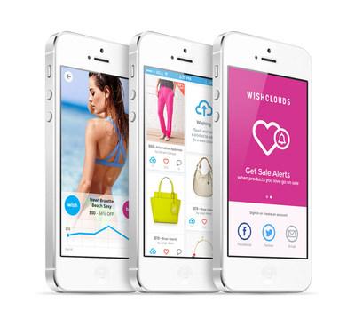 WishClouds Fashion App (PRNewsFoto/WishClouds)