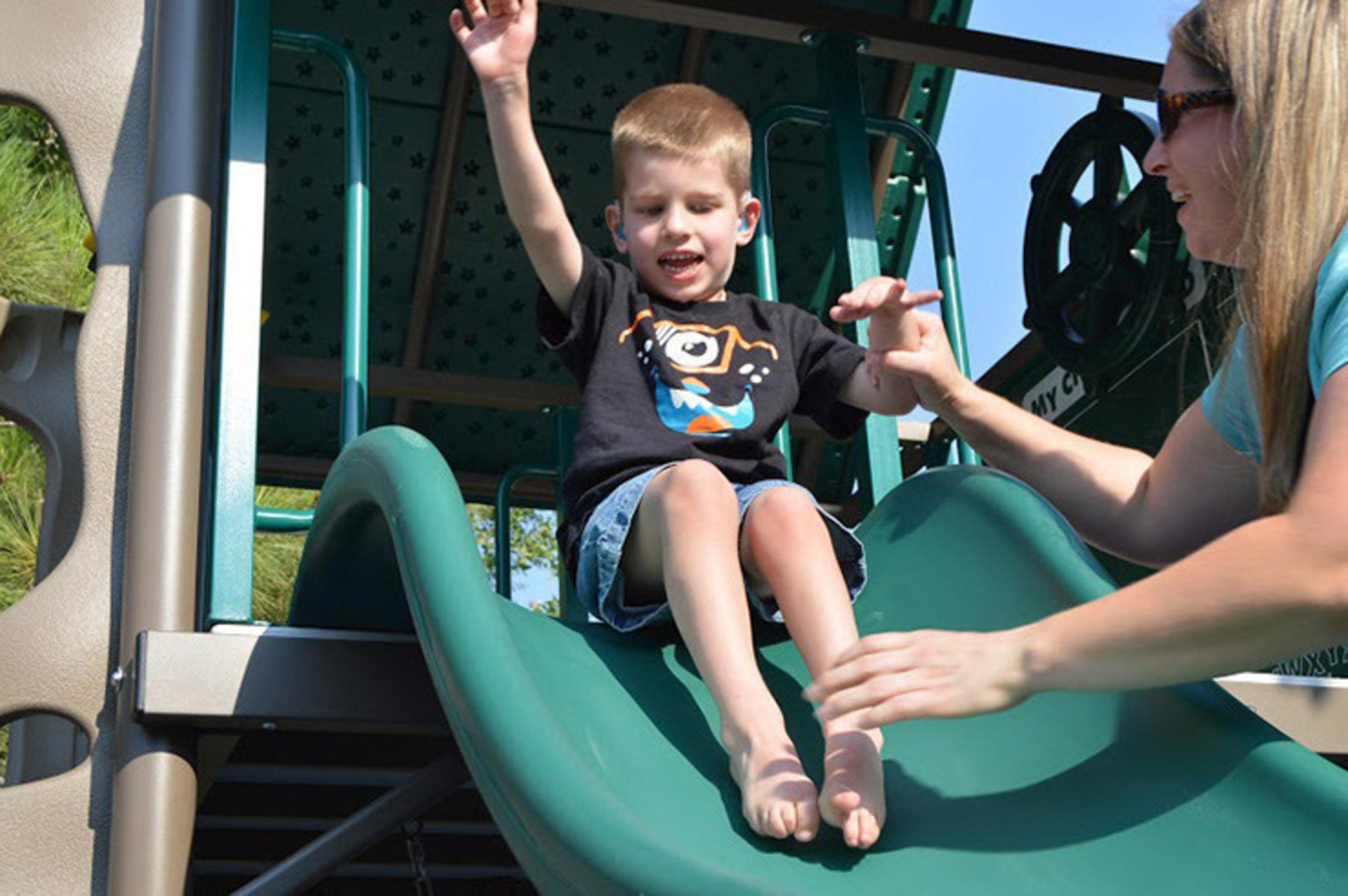 doTERRA Donates Wheelchair-Friendly Playground to Help Disabled Children