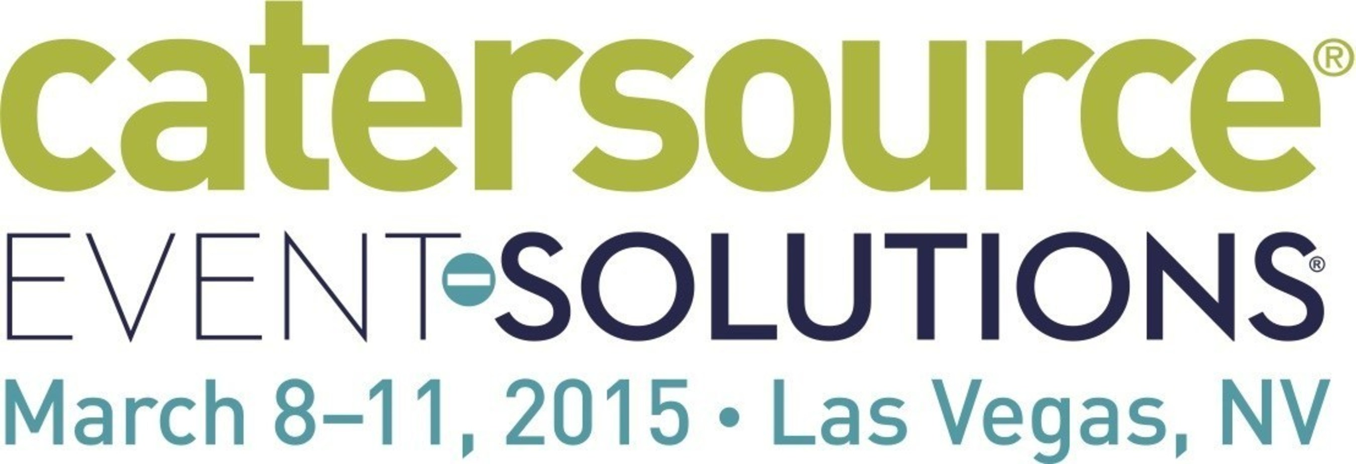 Catersource and Event Solutions Conference & Tradeshow runs from March 8-11, 2015 at Caesars Palace and the Las Vegas Convention Center in Las Vegas, NV.