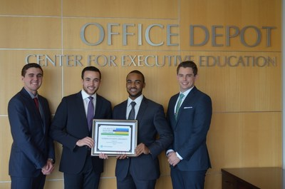 FAU students Bradley Schwartzmann, Marcus Stewart, Oscar Isoba and James Engstrom, will represent the state of Florida at the CFA Institute Research Challenge regional competition scheduled to take place April 13th in Chicago.