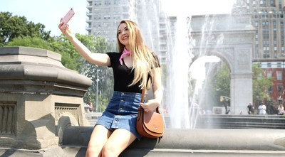 "Host Meredith Foster explores New York City for ""Destination: Disney Style"""