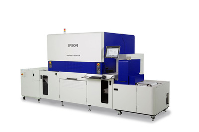 Epson Introduces the SurePress L-6034VW, its First Digital Label Press with UV Ink and New PrecisionCore Linehead.  (PRNewsFoto/Epson America)