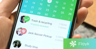 Flayk app keeps families organized and rewarded