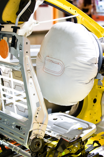 Airbags inflate in milliseconds (PRNewsFoto/INFICON)