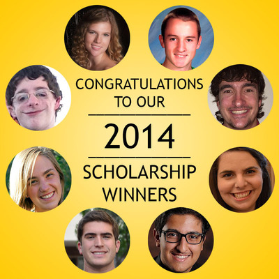 Congratulations to the 2014 Cochlear Americas Scholarship Winners -- Eight Gifted Students Show Proven Success Even with Hearing Loss.  (PRNewsFoto/Cochlear Americas)