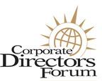 Corporate Directors Forum logo.  (PRNewsFoto/Corporate Directors Forum)