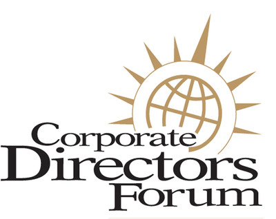 Corporate Directors Forum logo. (PRNewsFoto/Corporate Directors Forum) (PRNewsFoto/)