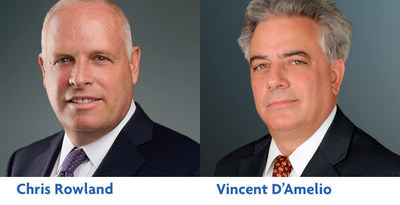 Chris Rowland and Vincent D'Amelio will lead Ankura's new Financial Services practice.