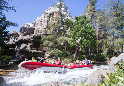 "Matterhorn Bobsleds is one of many attractions making a big splash this summer at the Disneyland Resort in Anaheim, California. The fun begins with ""Rock Your Disney Side"" May 23-24, as Disney Parks kicks off the summer season with a 24-hour coast-to-coast celebration at three theme parks. Guests at Disneyland Park and Disney California Adventure Park at the Disneyland Resort in California and Magic Kingdom Park at Walt Disney World Resort in Florida are invited to spend all day and all night in the parks, laughing, screaming, dancing and embracing their own Disney Side. (PRNewsFoto/Walt Disney Parks and Resorts)"