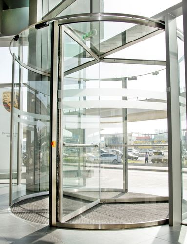 Top-Class Door Automation With GEZE Door Systems in Dubai's Recently Inaugurated Porsche Center (PRNewsFoto/GEZE GmbH)