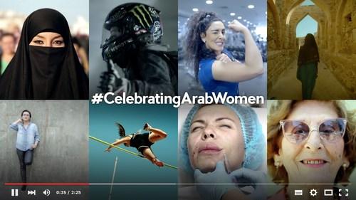 #CelebratingArabWomen: The First Arab Women Empowerment Campaign (PRNewsFoto/HALA AJAM)