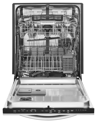 KitchenAid Ultra-Fine Filter Dishwasher Interior (PRNewsFoto/KitchenAid)