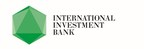 International Investment Bank Logo (PRNewsFoto/International Investment Bank)