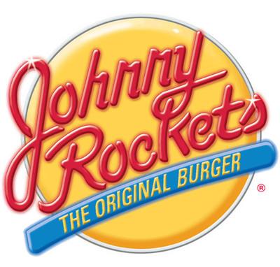 Johnny Rockets Burger logo.
