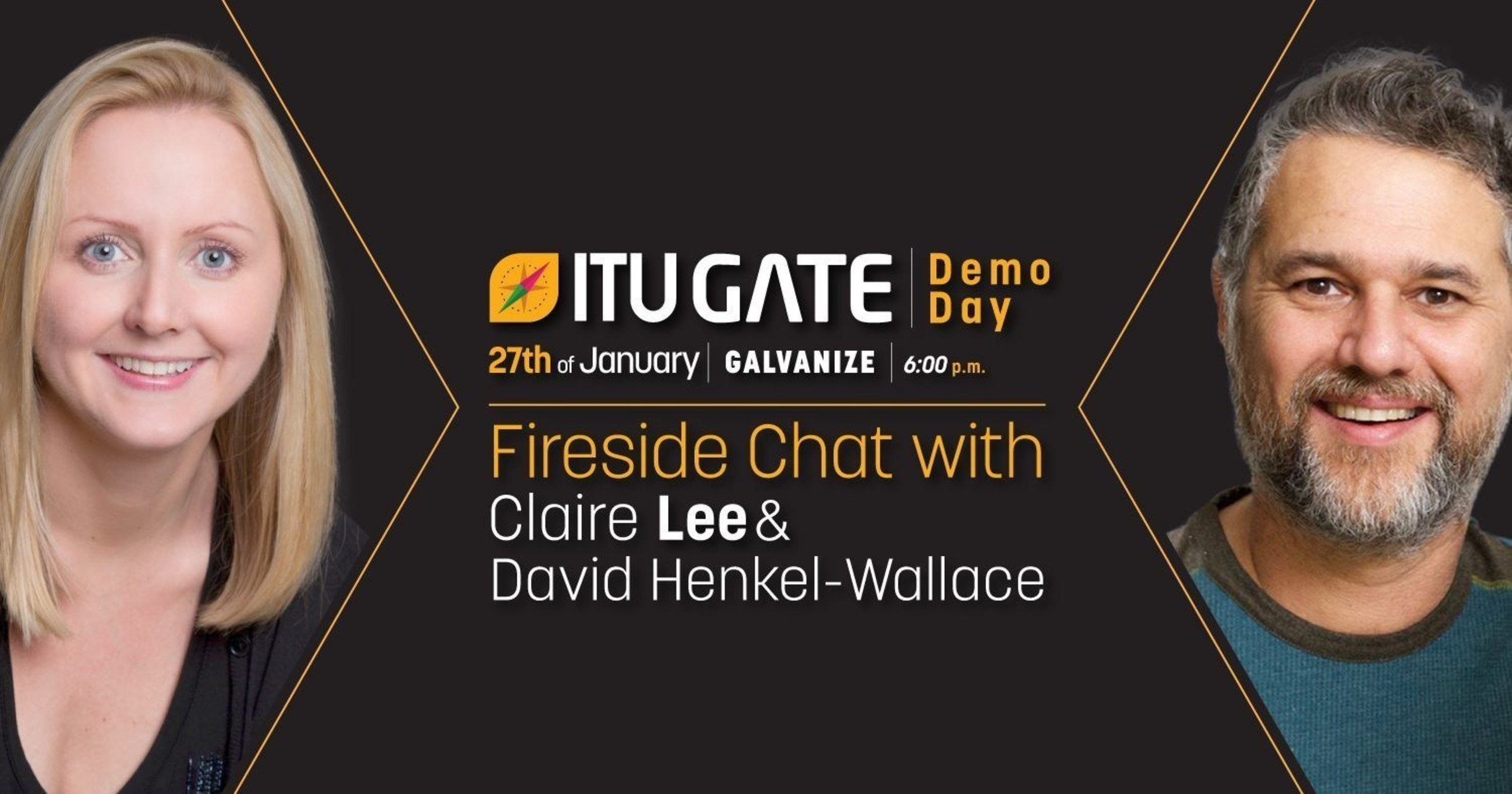 The speakers of the ITU GATE San Francisco Demo Day will be Claire Lee from Silicon Valley Bank and David ...
