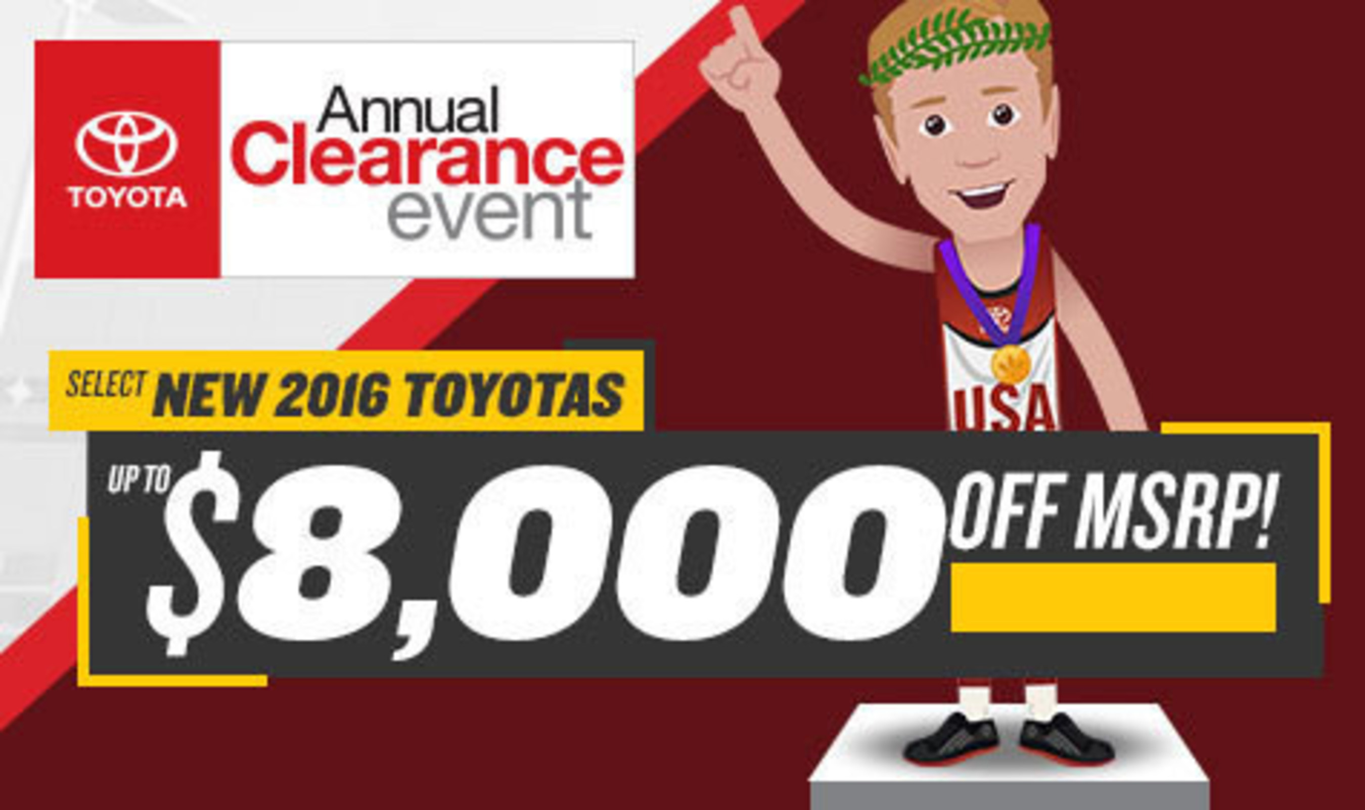 fred anderson toyota of columbia hosts the annual clearance event page 2. Black Bedroom Furniture Sets. Home Design Ideas