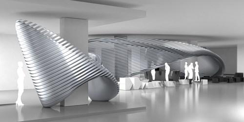 Georg Jensen Debuts Collaborations With Visionary Architect Zaha Hadid (PRNewsFoto/Georg Jensen) ...