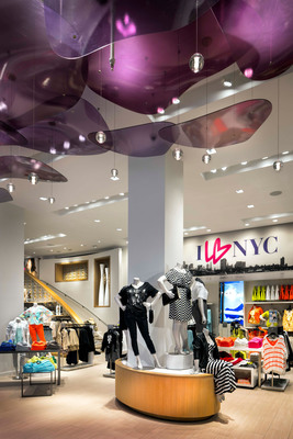 Lane Bryant's 34th Street Flagship Store in NYC.  (PRNewsFoto/Lane Bryant)