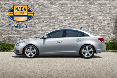 NADAguides 2011 Car of the Year Awarded to 2011 Chevrolet Cruze.  (PRNewsFoto/NADAguides)