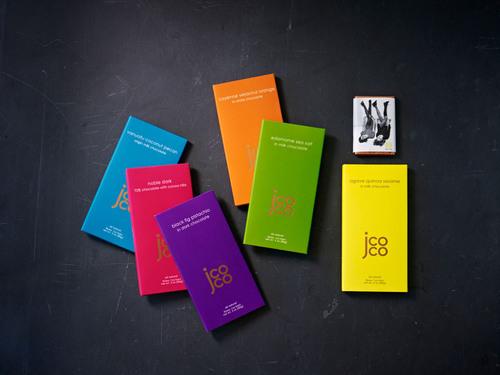 jcoco Product Line. (PRNewsFoto/Seattle Chocolate Company) (PRNewsFoto/SEATTLE CHOCOLATE COMPANY)