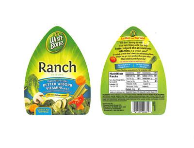Wish-Bone Salad Dressing Issues Allergy Alert on Undeclared Egg in 24 oz. Wish-Bone Ranch Salad Dressing