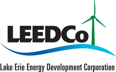 Lake Erie Energy Development Corporation (LEEDCo) Announces Selection of a Developer for Lake Erie Wind Farm. (PRNewsFoto/Lake Erie Energy Development Corporation)