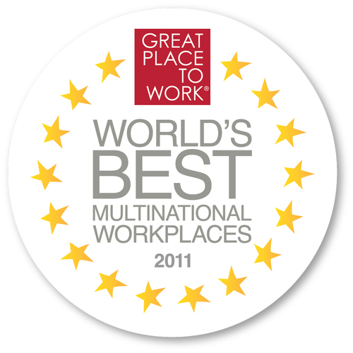 World's Best Multinational Workplaces 2011.  (PRNewsFoto/Great Place to Work Institute)