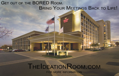 Revive your meetings!  Only 2 in the world like it, visit www.TheIdeationRoom.com to learn more!.  (PRNewsFoto/WashDCHotels.com)