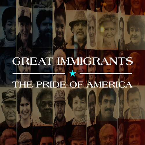Great Immigrants -- The Pride of America: Celebrate July 4th with Stories of Immigrants Who Make America Strong. Carnegie Corporation of New York, founded by Andrew Carnegie in 1911, salutes naturalized citizens with public service ad and tribute website. (PRNewsFoto/Carnegie Corporation of New York)