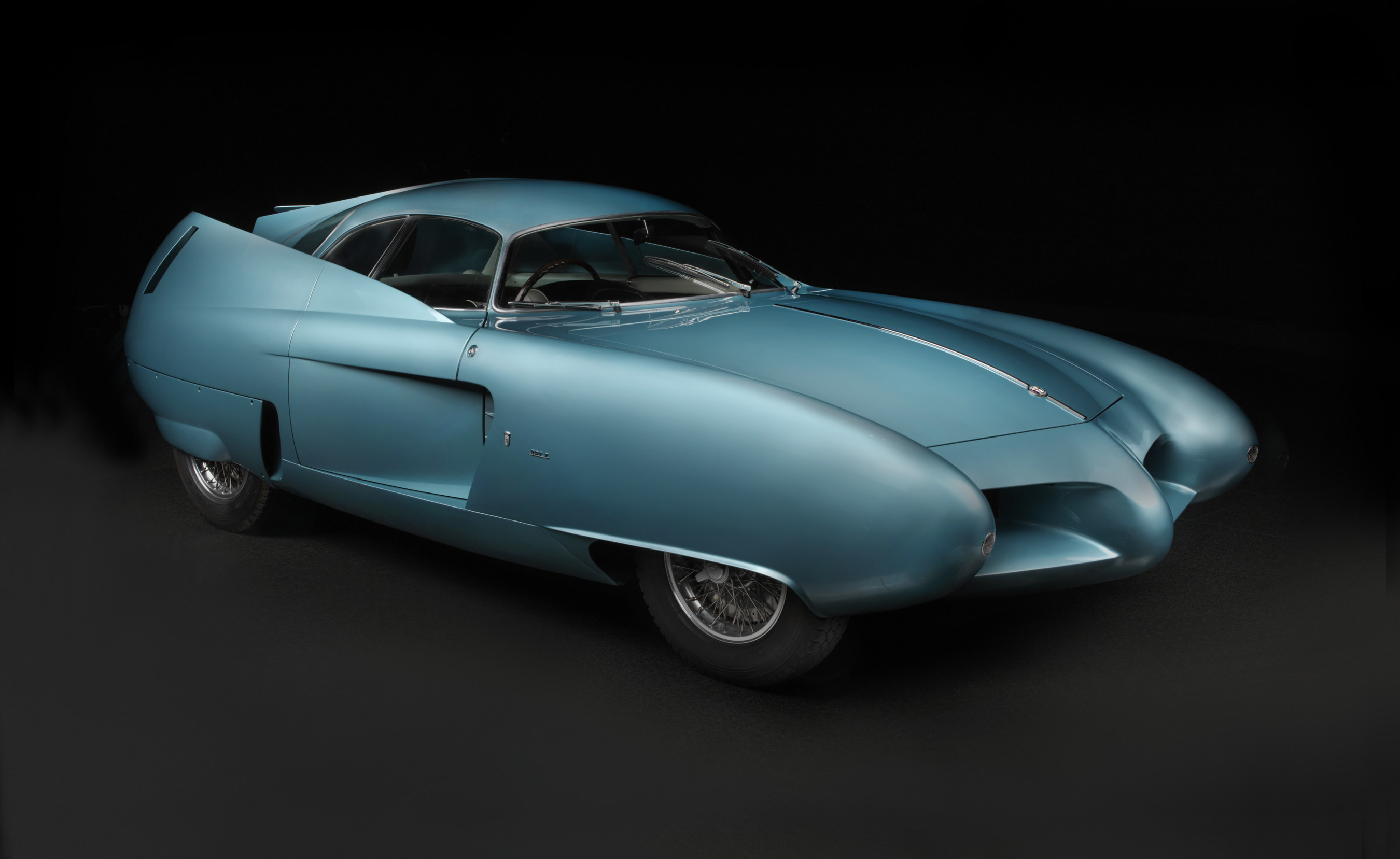 1954 Alfa Romeo BAT 7. The Blackhawk Collection. Image (C) 2016 Peter Harholdt