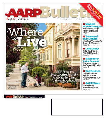 AARP Bulletin's May Issue