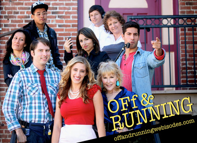 OFf & RUNNING Comedy Series Recruiting FRAMILY With Every Click! SEASON FINALE NOVEMBER 21! Start catching up now!Photo Design by Sara Celeste Martin.  (PRNewsFoto/New Generation Entertainment)