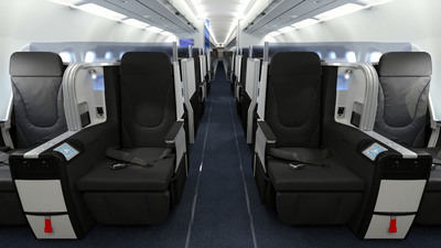 JetBlue Mint - Front Row. (PRNewsFoto/JetBlue Airways)