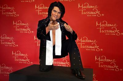 Madame Tussauds New York Welcomes Elvis Presley Wax Figure in Celebration of Elvis Week
