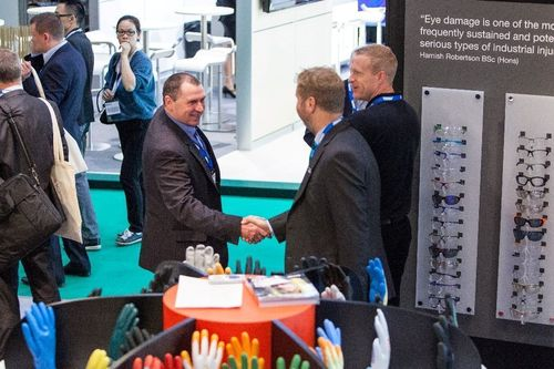 Business flourishing at Safety & Health Expo, 2014 at London ExCeL
