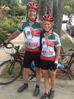 For Cary Sennett and his wife, Sara, tandem cycling is a weekend sport and a workday philosophy. (PRNewsFoto/AAFA)
