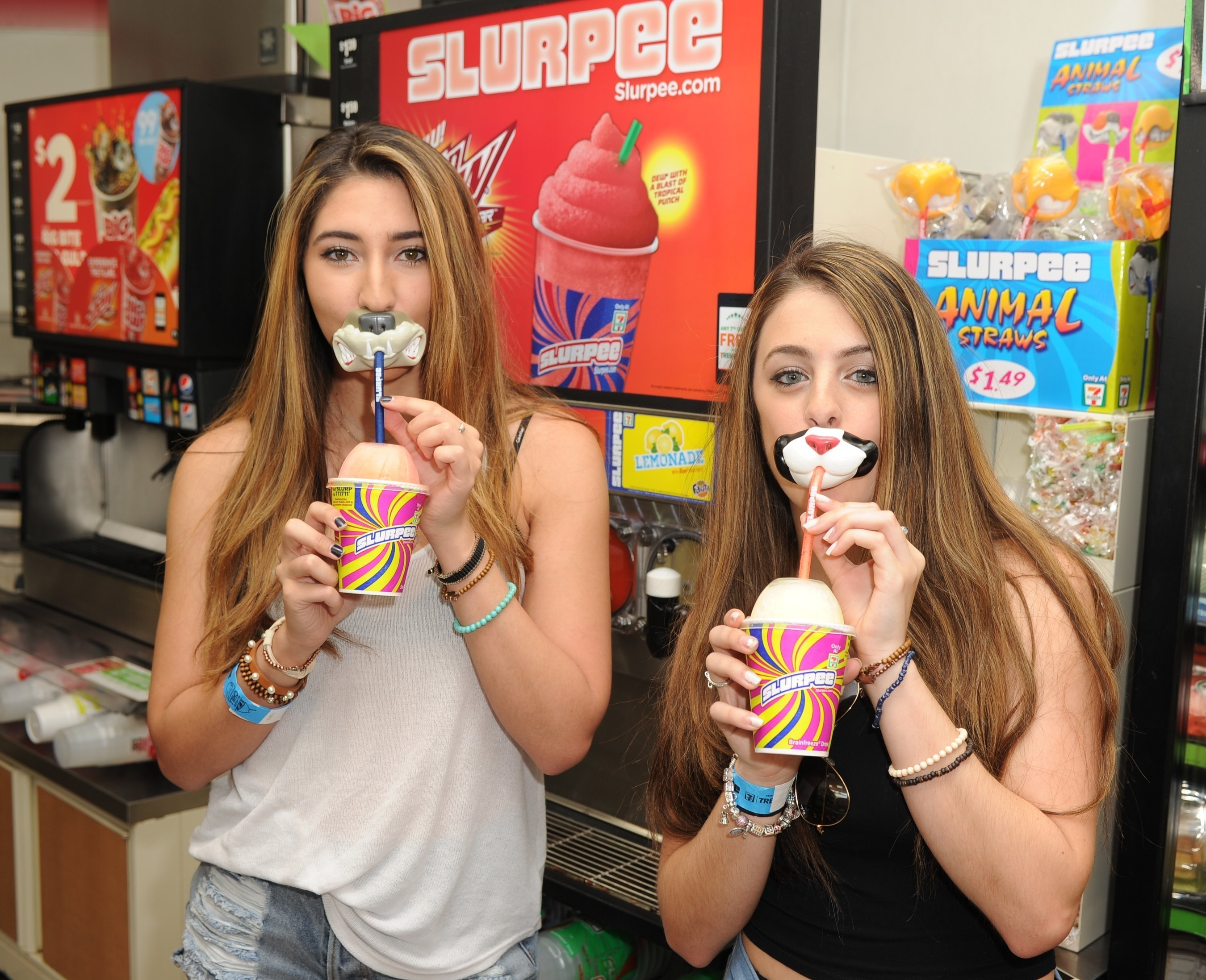7-Eleven kicks off summer with new Slurpee Spirit Animal Straws and Slurpee bottles. The newest Slurpee accessories are sold separately at participating stores in four novelty straw varieties at $1.49 each and four colorful bottles each at $2.99.
