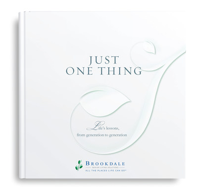 "Brookdale's ""Just One Thing"" e-book (PRNewsFoto/Brookdale Senior Living, Inc.)"