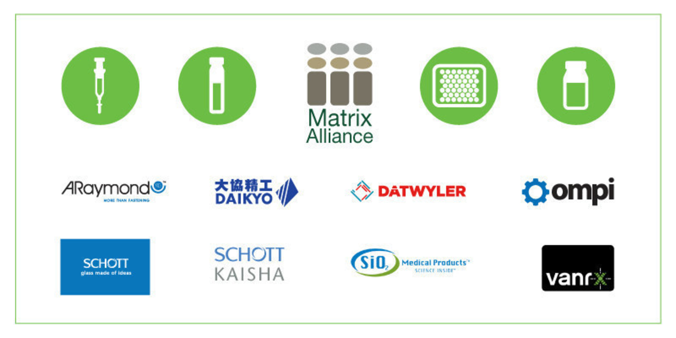 Pharmaceutical packaging industry leaders form the Matrix Alliance to help manufacturers speed