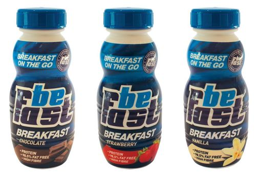 Be Fast is the most convenient breakfast product ever! You can now have a healthy breakfast literally anywhere, doing anything, without any preparation what-so-ever. No Spoons, No Hot Water, and this will totally fill you up until lunchtime!