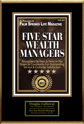 Douglas Galloway Selected For 'Five Star Wealth Managers'