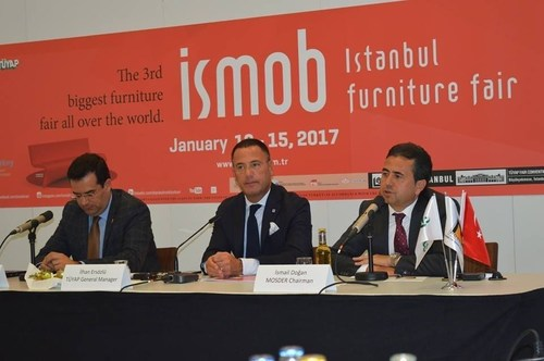 Istanbul Furniture Fair (ISMOB) is opening up to the world between January to 15th 2017 (PRNewsFoto/TUYAP)