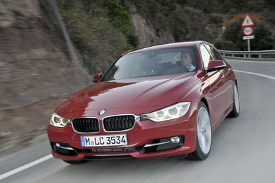 The BMW 3 Series Sedan, segment leader and growth driver for the BMW Group. (PRNewsFoto/BMW Group)