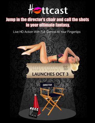 Hottcast Launches October 3.  (PRNewsFoto/Blue Hour Entertainment)