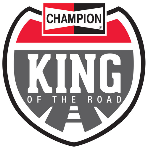 "Champion(R) ""King of the Road"" LOGO.  (PRNewsFoto/Federal-Mogul Corporation)"